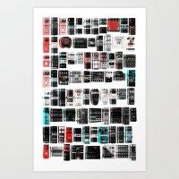yowamushi pedal Art Prints featuring Pedal Pusher by ▽▏ l○$t◭R3BE♑◬ H⊙mme◮