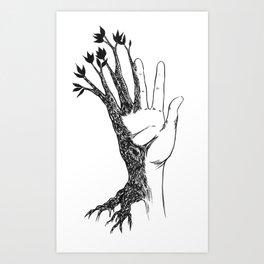 Natural Connection Art Print