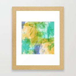 strokes Framed Art Print