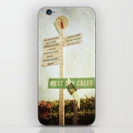 Choices iPhone Skin