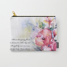 Alluring Blooms by Kathy Morton Stanion Carry-All Pouch