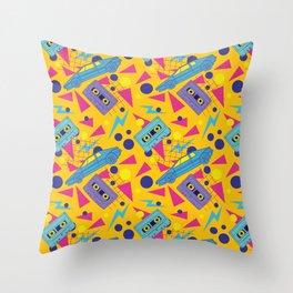 Nineties Throw Pillow