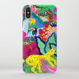 Jungle Party Animals iPhone Case