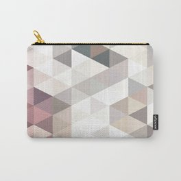 PINK AND GREY Carry-All Pouch