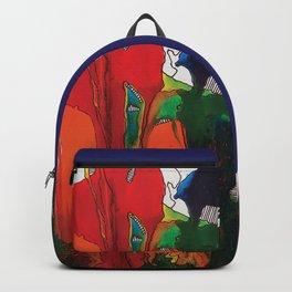 Abstract by Azam Sadeghi Backpack