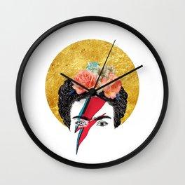 Frida Bowie Wall Clock