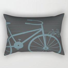 Grey Bike by Friztin Rectangular Pillow
