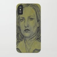 scully iPhone & iPod Cases featuring Scully by Jenn