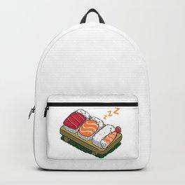Sushi sleeping Backpack