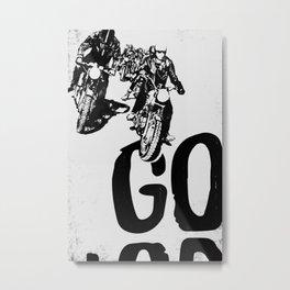 The Horde Motorcycle Art Print Metal Print