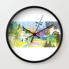Norwich- City of Stories Wall Clock