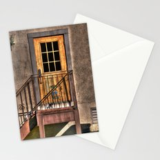 Back Door of the Winery Stationery Cards