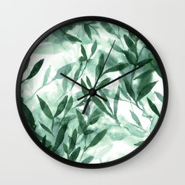 Changes Hunter Green Wall Clock