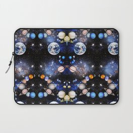 Vibrant mirrored Universe pattern Laptop Sleeve