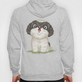 Shih Tzu happy Hoody