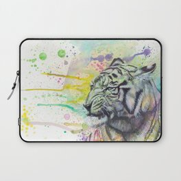 ColorSplash Tiger Laptop Sleeve