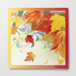 Autumn Leaves 5 Metal Print
