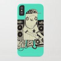 dj iPhone & iPod Cases featuring DJ  by Mr. JJ