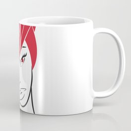 Red Hair Coffee Mug