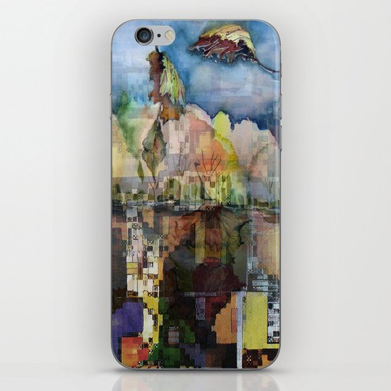 Central Park in Autumn iPhone & iPod Skin