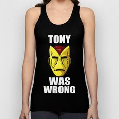 Tony Was Wrong Unisex Tank Top