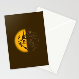 Fossil Fuel Stationery Cards