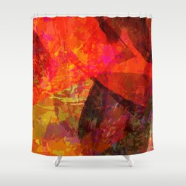 flames2 Shower Curtain