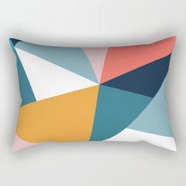 Modern Geometric 35 Rectangular Pillow