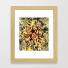 Listen to the sky Framed Art Print