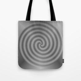 balanced black Tote Bag