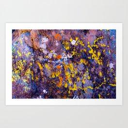 Natural Abstaction Art Print