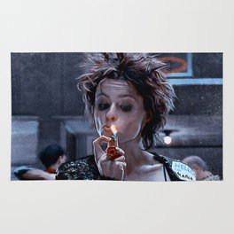 Marla Singer Smokes A Cigarette During Group Therapy - Fight Rug