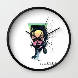 Grace Jones A4 art print  Wall Clock