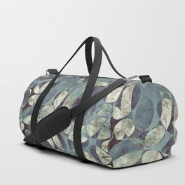Background Metallic Ocean II Duffle Bag