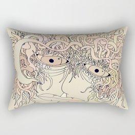 Way so sad... Rectangular Pillow
