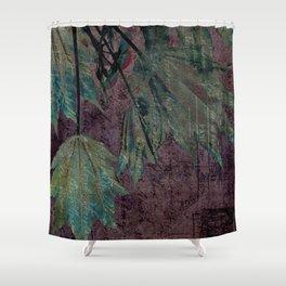 urban maple Shower Curtain
