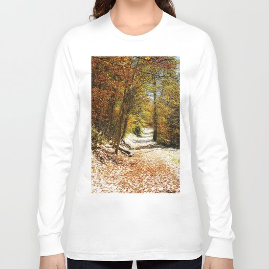 The First Snow Long Sleeve T-shirt