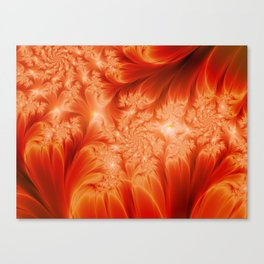 Fractal The Heat of the Sun Canvas Print