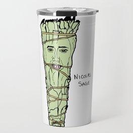 Nicolas Cage Nicolas Sage smudge Travel Mug