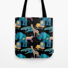African Animals Tote Bag