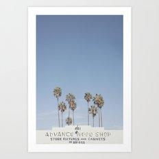 York BLVD | Highland Park | Los Angeles Art Print