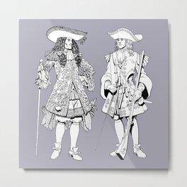 Muskets Metal Print