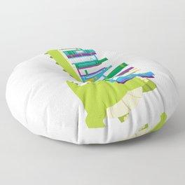 The Geek Brachiosaurus Floor Pillow