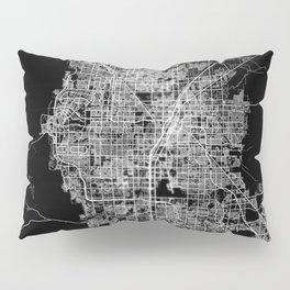 Las Vegas map Pillow Sham