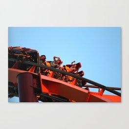 Rollercoaster  Canvas Print