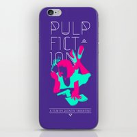 pulp iPhone & iPod Skins featuring Pulp Fiction by RJ Artworks