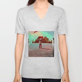 Hopping! Unisex V-Neck