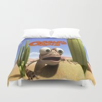 oasis Duvet Covers featuring oscar's oasis by store2u