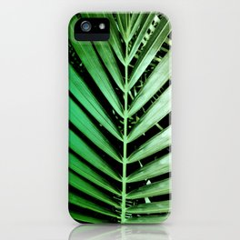 Leaf Lines iPhone Case
