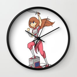 ByteKnight Wall Clock